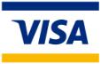ブランドロゴ:Visa